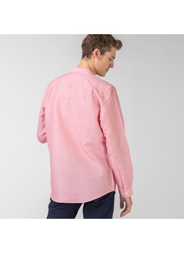 Lacoste Erkek Slim Fit Gömlek CH0052.52R Kırmızı